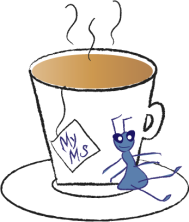 MyMS logo